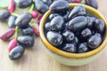 Jambolan plum, Java plum Royalty Free Stock Photo