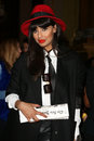 Jameela jamil attending the ppq catwalk show as part of london fashion week ss at goldsmith s hall london picture by henry harris Royalty Free Stock Images