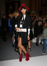 Jameela jamil attending the ppq catwalk show as part of london fashion week ss at goldsmith s hall london picture by henry harris Stock Photo