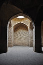 Jameh mosque complex interior view of Royalty Free Stock Photo