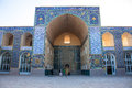 Jameh mosque in kerman iran Royalty Free Stock Images