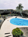 Jameos del agua lanzarote on the island canary islands spain Royalty Free Stock Photography