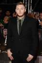 James arthur arriving for the the twilight saga breaking dawn part premiere at the odeon leicester square london picture by steve Royalty Free Stock Image