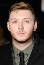 James arthur arriving for the the twilight saga breaking dawn part premiere at the odeon leicester square london picture by steve Royalty Free Stock Images