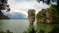 James bond island khao phing kan famous since when it was featured in the movies the man with the golden gun and tomorrow never Stock Photo