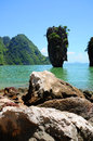 James bond island phang nga thailand Stock Photography