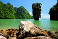 James bond island phang nga thailand Stock Image