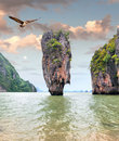 James bond island phang nga thailand Royalty Free Stock Image