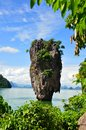 James Bond Island Phuket, Thailand. Royalty Free Stock Photo