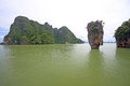 James bond island thailand phang nga bay Stock Image