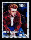 James Dean Postage Stamp Royalty Free Stock Photo