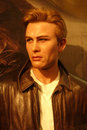 James Dean Wax Figure Royalty Free Stock Photography