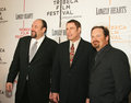 James gandolfini john travolta and todd robinson actors arrive on the red carpet for the premiere of lonely hearts at the th Royalty Free Stock Images