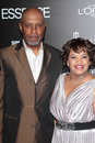 James Pickens Jr,  Chandra Wilson Royalty Free Stock Photos