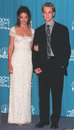 James Van Der Beek,Katie Holmes Stock Image