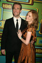 James van der beek kimberly brook and at hbo s th annual golden globe awards official after party circa restaurant beverly hills Stock Photos
