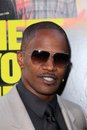 Jamie foxx horrible bosses los angeles premiere chinese theater hollywood ca Royalty Free Stock Photo