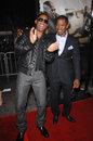 Jamie foxx will smith left at the world premiere of s new movie the kingdom at mann s village theatre westwood september los Stock Photography