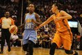 Jamierra faulkner gaurd for the chicago sky at walking stick resort arena Stock Photo