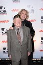 Jan rooney mickey rooney and wife at aarp magazine s movies for grownups beverly wilshire hotel bevely hills ca Stock Photos