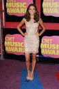 Jana Kramer at the 2012 CMT Music Awards, Bridgestone Arena, Nashville, TN 06-06-12 Stock Image