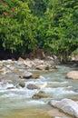 Janda baik river malaysia is a small village in bentong pahang Royalty Free Stock Photo
