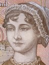 Jane Austen portrait Royalty Free Stock Photo