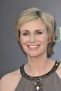 Jane lynch at the los angeles premiere of her new movie julie julia at mann village theatre westwood july los angeles ca picture Royalty Free Stock Photos
