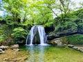 Janet`s Foss Waterfall, Malham...
