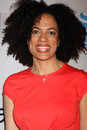 Janine Sherman Barrois arrives at the NAACP Image Awards Nominees Reception Stock Image
