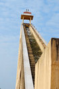 Jantar mantar jaipur architectural astronomical instruments Royalty Free Stock Images