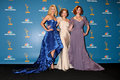 Januari Jones, Christina Hendricks, Elisabeth Mos, CHRISTINA HENDRICK Stock Afbeeldingen