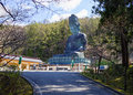 Japan. Big Buddha of Aomori Prefecture. Royalty Free Stock Photo