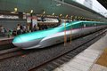 Japan bullet train Stock Image
