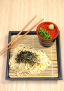 Japan food noodle for eat Royalty Free Stock Photography
