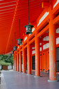 Japan, Heian Shrine, Royalty Free Stock Photography