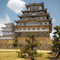 Japan - Himeji Castle Royalty Free Stock Photo