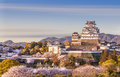 Japan Himeji castle Royalty Free Stock Photo