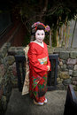 Japan Kyoto Maiko Geisha 03 Royalty Free Stock Image