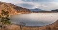Japan landscape with Mount Fuji - Lake Shoji Shojiko Royalty Free Stock Photo
