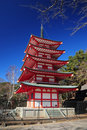 Japan pagoda Stock Images