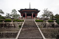 Japan s tallest pagoda toji temple and japan's Stock Photo