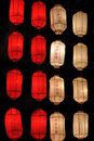 Japan style lantern Royalty Free Stock Photos