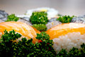 Japan sushi closeup Royalty Free Stock Image