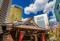 Japan between tradition and modernity Royalty Free Stock Photo