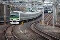 Japan Train Royalty Free Stock Photo