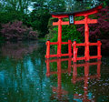 Japanese Ancient Gate Royalty Free Stock Images