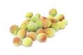 Japanese apricot Royalty Free Stock Photo