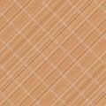 Japanese bamboo mat. Diagonal. Seamless pattern. Royalty Free Stock Photo