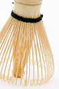 Japanese Bamboo Whisk Standing Royalty Free Stock Images